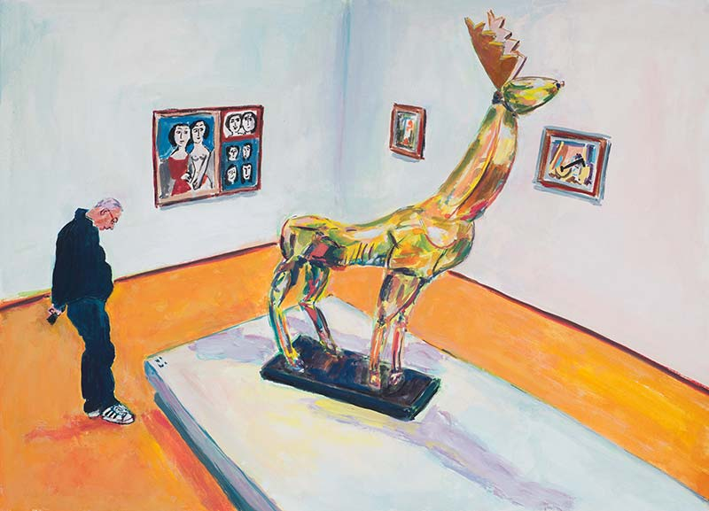 Le Cerf' by Ossip Zadkine